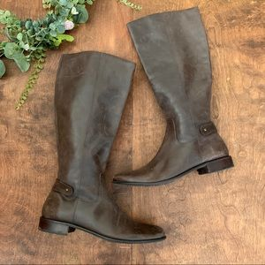 Talbots Brown Leather Riding Boots | 10B